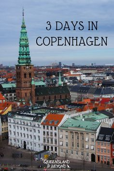 Copenhagen makes for a fabulous, stressfree weekend getaway if you're travelling in Europe. There's tons to do as the city is full of castles, palaces and more. You can easily spend 3 days in Denmark's gorgeous capital.