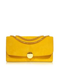 03f6af079648 Marc Jacobs Double Trouble Sunflower Suede Shoulder Bag at FORZIERI Double  Trouble