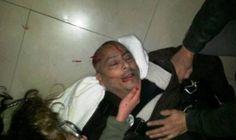 ATE repudia la brutal represión a nuestro reportero gráfico y a la manifestación en Santa Cruz