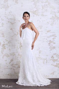 Romantic Wedding Dress 1702, Mia Lavi 2017
