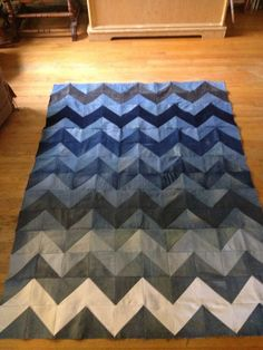 jean and tshirt quilt - Google Search