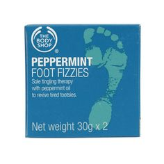 The Body Shop : Peppermint Foot Fizzies