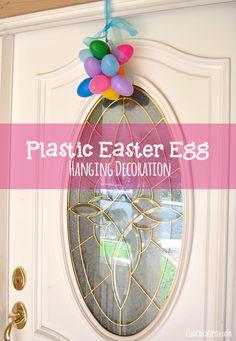 Plastic Easter Egg Door decoration