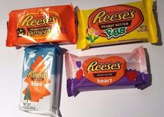 Hershey's Reeses Peanut Butter Egg/Heart/Tree/Pumpkin 34g -American Reeses Candy