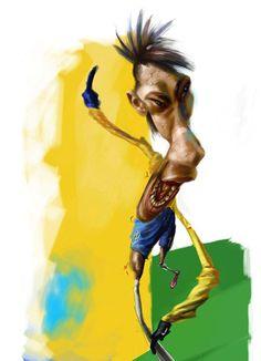 Irancartoon   Interview With Ray Costa Brazilian Cartoonist/By Irancartoon   Cartoon & Caricature Information Center