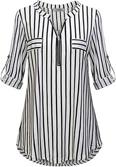 # Casual Outfits with flats gingham shirt JCZHWQU Womens Zip Up V Neck Rolled Sleeve Casual Plaid Tunic Shirt Plaid Tunic, Tunic Shirt, Tunic Tops, Shirt Dress, Cool Shirt Designs, Blouse Designs, Umgestaltete Shirts, Chic Outfits, Fashion Outfits