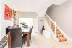 3 bedroom terraced house for sale in Ravensworth Road, Kensal Rise, NW10, NW10 Victorian Terrace, Terraced House, Property For Sale, Stairs, Bedroom, Kitchen Ideas, Home Decor, Stairway, Decoration Home