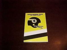 1984 Appalachian State Football Media Guide | #1755992873