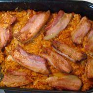 Uzený bůček, kysané zelí a kroupy recept - .... http://recepty.vareni.cz/uzeny-bucek-kysane-zeli-a-kroupy/