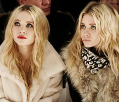 I always wanted to be an Olsen twin