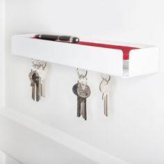 Key board key box by Konstantin Slawinski – Scarf Ideas 2020 Family Command Center, Key Box, New Builds, Organization Hacks, Interior Inspiration, Track Lighting, Designer, Living Spaces, Sweet Home