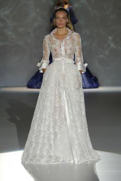 Isabel Zapardiez 2015 Barcelona Bridal Week