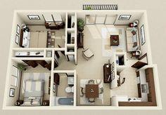 2+1 mimari ev modelleri