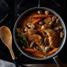 Sauté' the mushrooms in a little sherry and add crushed anchovy before braising. Turkey Recipes, Chicken Recipes, Turkey Meals, Dinner Recipes, Cooking With Red Wine, Cooking Recipes, Healthy Recipes, Soups And Stews, Food For Thought