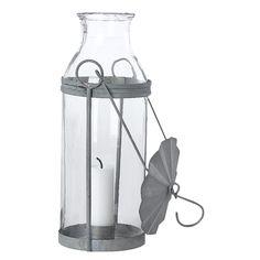 Ljuslykta med zinktopp, small – House Doctor – Köp online på Rum21.se