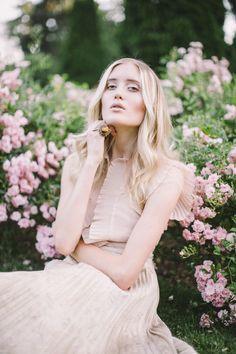pink editorial spring