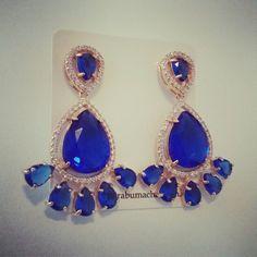 Na loja virtual! #azul #semijoias #brincos #mairabumachar #lojavirtual #ecommerce