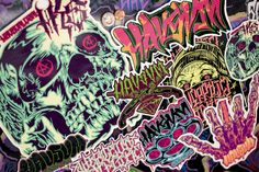 8d724a83ae0fd6 Graffiti Decal   Sticker Pack Sticker Bomb HAVSVM by HAVSVM808 Sticker  Bomb