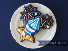 Easy Firework Cookies | Klickitat Street