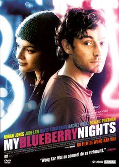My Blueberry Nights (2007) directed by Kar Wai Wong, with Norah Jones, Jude Law, Natalie Portman, Rachel Weisz