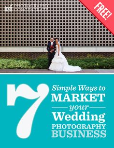 A free ebook full of marketing tips for wedding photographers!
