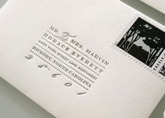 Letterpress Research for Salute Aesthetics
