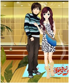 http://www.dressup24h.com/game/809/Weekend-Dress-up.html  Cindy's going to have a date with her boyfriend this weekend. Both of them like to make a romantic date this day. Could you please help them to have a perfect date?