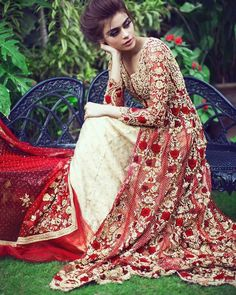 ight Gold Anarkali Frock with double layer bridal Lehenga. Dress has been adorned with heavy work of bright gold and silver tilla , dapka , and sawrovski. Pakistani Wedding Dresses, Indian Wedding Outfits, Pakistani Outfits, Pakistani Bridal, Indian Bridal, Indian Dresses, Latest Bridal Dresses, Bridal Gowns, Anarkali Frock