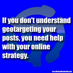 The Music Biz Weekly Podcast Presents… You Need Help with Your Online Strategy If! Every week we will bring you another short, easy to digest, little tidbit. If you don't understand geo…
