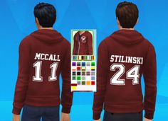 Teen Wolf inspired hoodies by mattinsimblrland