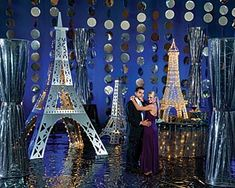 Silver Lights of Paris Decorating Kit