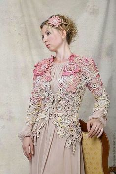 Irish crochet lace... lovely!