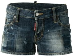 DSquared faded shorts on shopstyle.com