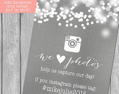 Bubble Lights Social Media mariage signe, twitter, facebook, instagram, réception, hashtag