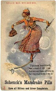 Nellie Bly: journalist who set out in 1889 to see if she couldn't beat Phileas Fogg's fictional record of 80 days to circumnavigate the globe. Nellie Bly, Strange Events, Crazy Girls, Belle Epoque, Powerful Women, Steampunk, Museum, Victorian, Scribe