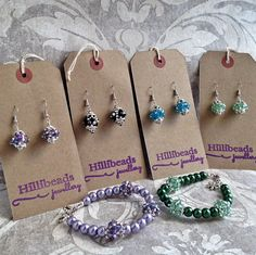 Crystal Lantern Earrings: Blue, Green, Purple, Black/Silver - perfect everyday bling by Hillibeads on Etsy https://www.etsy.com/uk/listing/271463301/crystal-lantern-earrings-blue-green