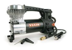 The Viair is a small portable air compressor with a built-in LED work light. Tire pressure can be monitored using the gauge incorporated into the top of the unit. Easy to read tire pressure gauge mounted on the compressor. Electric Air Compressor, Best Portable Air Compressor, Led Work Light, Work Lights, Tire Pressure Gauge, Best Tyres, Automotive Tools, Shopping Hacks, Just In Case