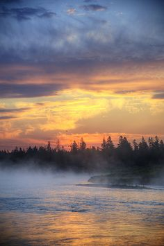 Land of the Rising Sun | Madison River Sunrise, Montana