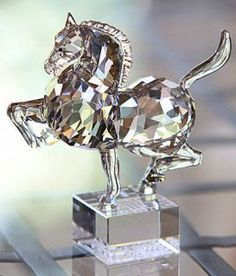 These crystal animals inspire me because they are very beautiful and look so magical! They are clear but have so much detail in them!