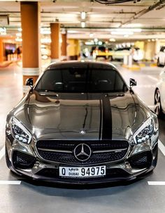 Mercedes-Benz-AMG-Grey #luxurycars