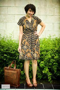Simple batik dress