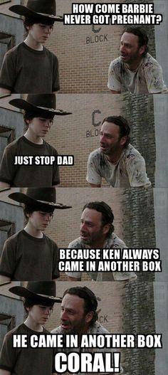 No More Dad Jokes Rick, Please