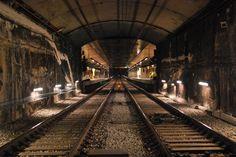 https://flic.kr/p/iit6Fo | Túnel L4 Metro Barcelona