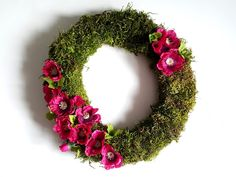 diy wianek wiosenny / diy summer wreath