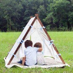 kinder zelte auf pinterest spielzelte kinderspielzeug und tipis. Black Bedroom Furniture Sets. Home Design Ideas