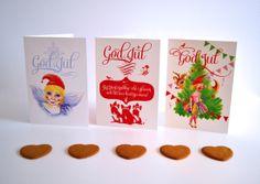 Christmas Card Collection by Sabina Wroblewski Gustrin, via Behance