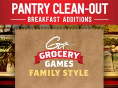 Pantry Clean-Out from Guy's Grocery Games: Breakfast Additions : Food Network - FoodNetwork.com
