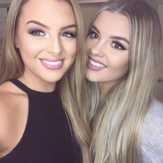 """""""Finally got to meet my long lost sister  I just did her makeup - ill post a video soon! @brittney_saunders """""""