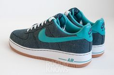 Nike Air Force 1 Low Canvas Summer 2013