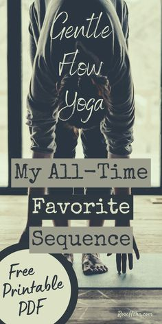 Try this gentle flow yoga sequence for a well-rounded practice. In my 25 years of practice, I haven't found a more complete, balanced flow than this one. Restorative Yoga Sequence, Yoga Flow Sequence, Yoga Sequences, Vinyasa Yoga, Yin Yoga Poses, Yoga Moves, Yoga Exercises, Gentle Yoga Flow, Home Yoga Practice